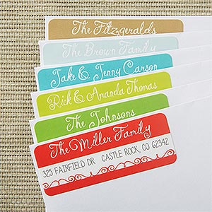 Custom Return Address Labels - Picture Perfect - 13409