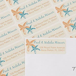 Personalized Address Labels - Tropical Paradise - 13410