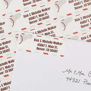 Personalized Address Labels - Postmark - 13411