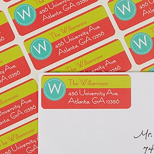 Personalized Return Address Labels - Top Highlights - 13425