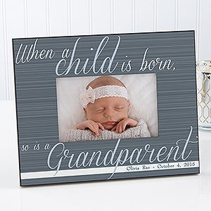 Personalized Grandparent Picture Frames A Grandparent Is