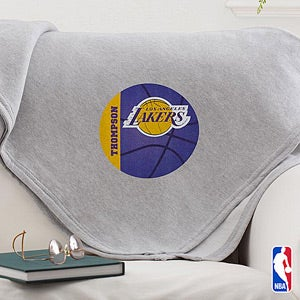 Personalization Mall Personalized NBA Basketball Throw Blanket at Sears.com
