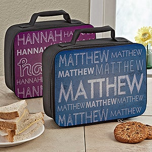 Personalized Lunch Bags For Kids - My Name - 13495