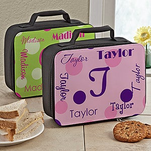 Personalized Lunch Bag for Girls - That's My Name - 13496