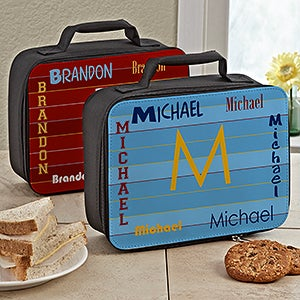 Personalized Lunch Bag for Boys - That's My Name - 13497