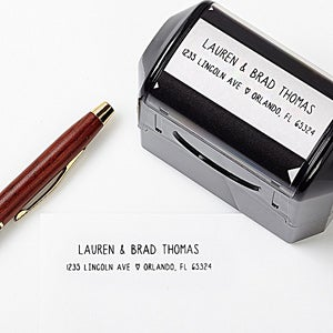Personalized Address Stamp - Simply In Love - 13526