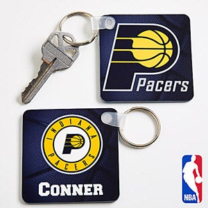 Personalized NBA Basketball Key Ring - 13536