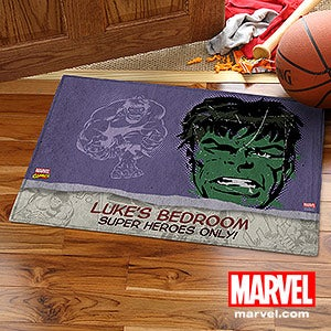 Personalized Marvel Superhero Doormats - Spiderman, Wolverine, Iron Man, Thor - 13696