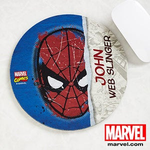 Personalized Marvel Superhero Mousepads - Spiderman, Wolverine, Iron Man, Thor - 13698