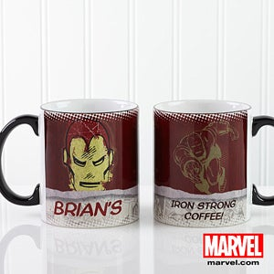 Personalized Marvel Comics Coffee Mugs - Superhero Faces - 13704