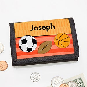 Personalized Boys Wallets - Sports, Cars, Dinosaurs & Robots - 13844