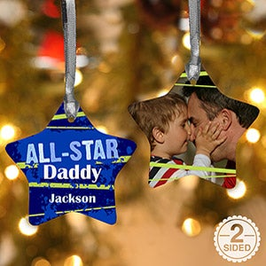 Personalized Christmas Ornaments - All Star - 13854