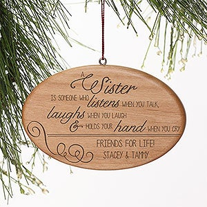 Personalized Christmas Ornaments - Special Sister - 13873