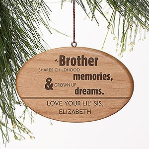 Personalized Christmas Ornaments - Special Brother - 13875