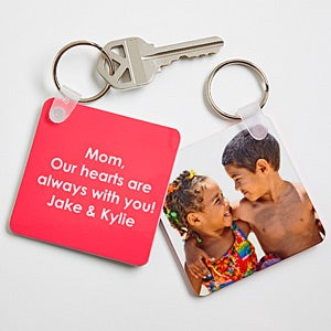 personalized photo key rings
