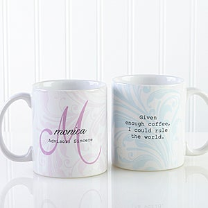 personalized name meaning coffee mugs for her