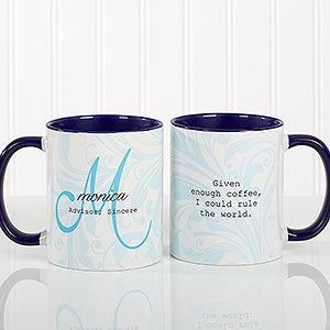 Personalized Coffee Mugs - Name Meaning - 13983