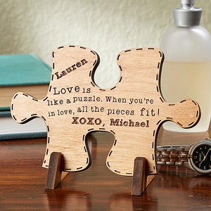 Perfect Match Custom Wood Puzzle Piece