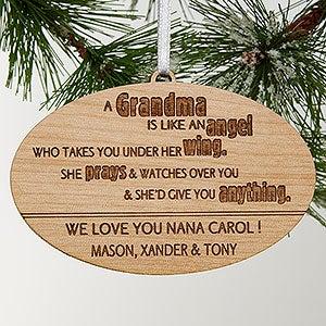 Personalized Grandparent Ornaments - Wonderful Grandma - 14028