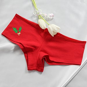 Personalized Christmas Camisole & Shorties - Naughty or Nice - 14033