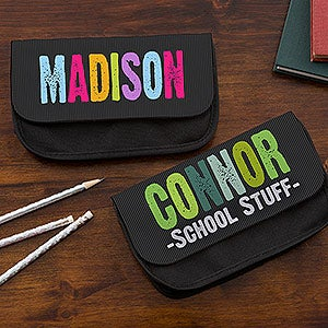 Personalized Kids Pencil Case - All Mine - 14045