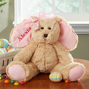 Personalized Stuffed Easter Bunny - 14129