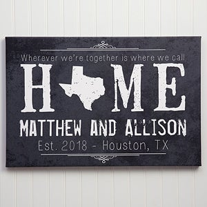 Wood Wall Art & Personalized Wall Art | PersonalizationMall.com