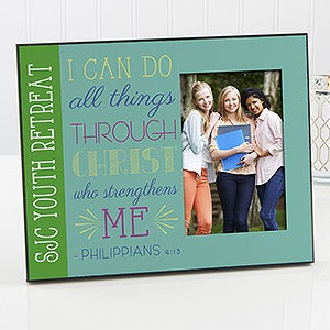 personalized christian picture frames i can do all things 14161