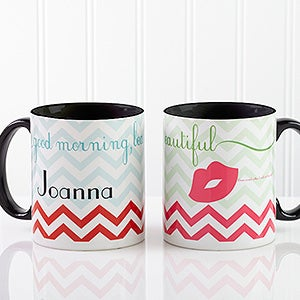 Personalized Coffee Mugs - Good Morning, Beautiful - 14171