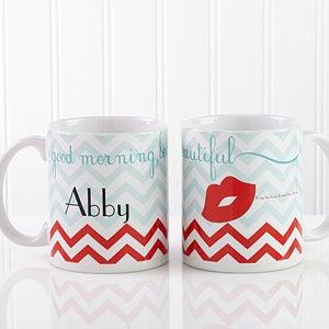 Personalized Coffee Mugs - Good Morning, Beautiful - 14171