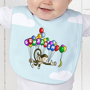 Personalized Kids Clothes - Floating Zoo Animals - 14182