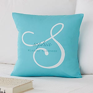 Personalized 14 throw pillow name meaning ladies gifts personalized throw pillows name meaning 14216 negle Images