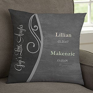Personalized Throw Pillows - My Grandkids - 14221
