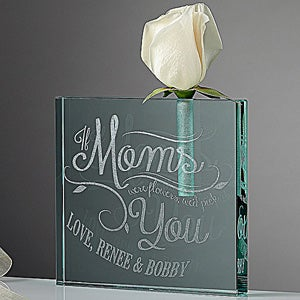 Personalized Bud Vase - Loving Words To Her - 14224