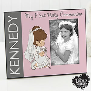 Personalized Precious Moments First Communion Picture Frames - 14239