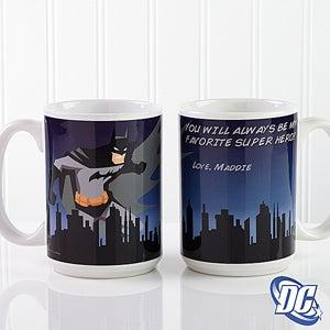 Personalized Superhero Coffee Mugs - Batman - 14266