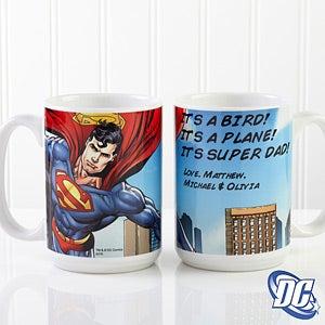 Personalized Superhero Coffee Mugs - Superman - 14267