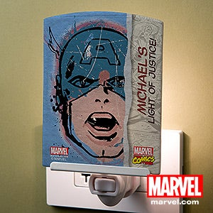 Personalized Marvel Superhero Night Lights - Hulk, Captain America, Thor - 14275