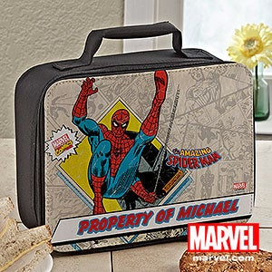 Personalized Spiderman Lunch Bag - 14279