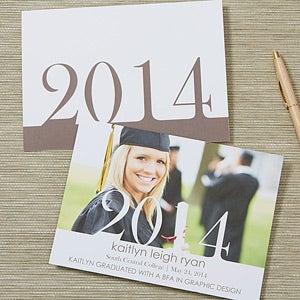 Personalized Photo Graduation Announcements - Proud Graduate - 14299