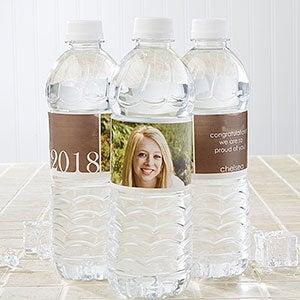 Personalized Water Bottle Labels - Proud Graduate - 14302