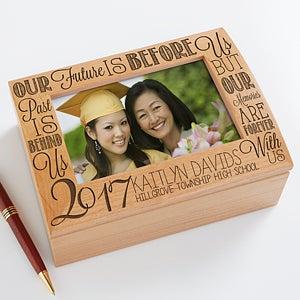 Personalized Photo Keepsake Box - Graduation Memories - 14305