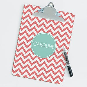 Personalized Clipboards - Preppy Chic - 14313