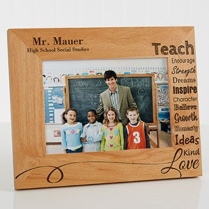 personalized teacher picture frames our teacher 5x7 teacher gifts