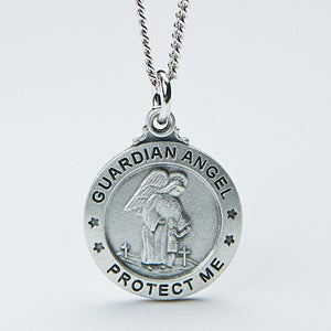 Personalized kids pendant necklace guardian angel personalized kids pendant necklace guardian angel 14351 aloadofball Choice Image