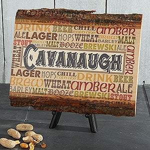 Personalized Alehouse Basswood Wall Plaques - 14371