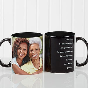 Personalized Coffee Mugs For Her Photo Sentiments