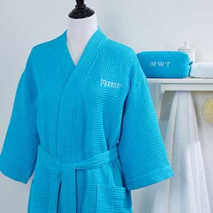 Luxury His and Her Matching embroidered Hangover fun robes