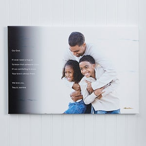 Personalized Canvas Prints - Photo Sentiments For Him - 14397
