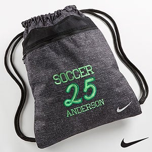 Personalized Sports Drawstring Bag - Nike - 14434